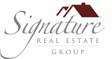 Alexses evans Signature Real Estate Group Logo